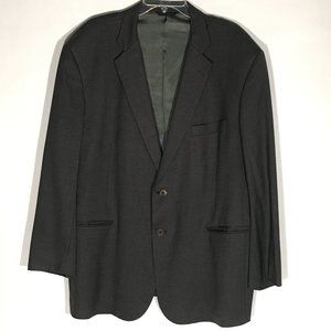 Brooks Brothers Gray Suit Jacket Blazer 48R